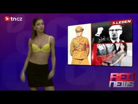 Red news 6 Jana Potysova (czech naked news)