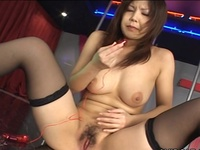 Great Tited Japanese Stripper Cumming Onto Stage