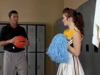 Cheerleader Honey Dicked Deeply