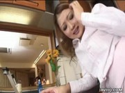 Japanese Teen Gets Fucked In The Kitchen …