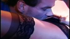 Black Lingerie Stockings Snatch Fucking