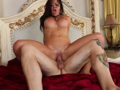 Tattooed Milf Gets Creampied
