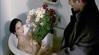 Maribel Verdu Wearing Some Sexy Lingerie Including Some See Through Stockings That Show Her Bush As A Guy Makes Out With Her Then In Other Scene Maribel Verdu Making Out With A Guy And Then Lying On Her Back On The Floor As He Pulls Off Her Panties Her Le