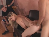 Housewife Sharing Around Awesome Swingers
